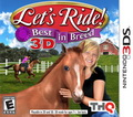 Game 3DS Lets Ride Best in Breed 3D