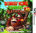 Game 3DS Donkey Kong Country Returns 3D