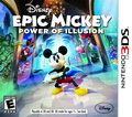 Game 3DS Disney Epic Mickey Power of Illusion