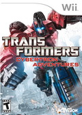 Game Wii Transformers Cybertron Adventure