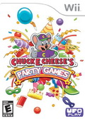 Game Wii Chuckes Cheeses Party Game