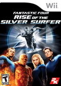 Game Wii Fantastic Four Rise Of The Silver Surfer