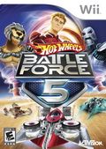 Game Wii Hot Wheels : Battle Force 5