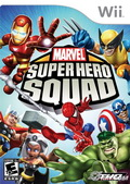 Game Wii Marvel Super Hero Squad