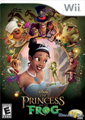 Game Wii The Princess and The Frog