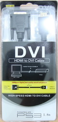 Kabel HDMI to DVI