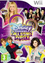 Game Wii Disney Channel All Star Party