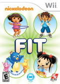 Game Wii Nickelodeon FIT