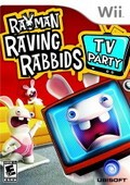 Game Wii Rayman Raving Rabbids TV Party